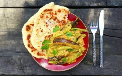 Runner Bean & Aubergine Curry